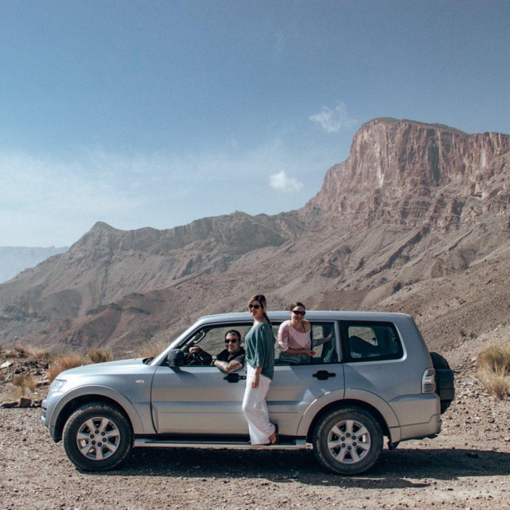 road trip in Oman - Driving Jebel Shams