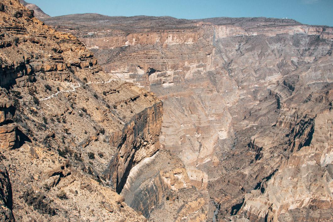 The Balcony Walk Canyon Rim - Oman Travel Guide