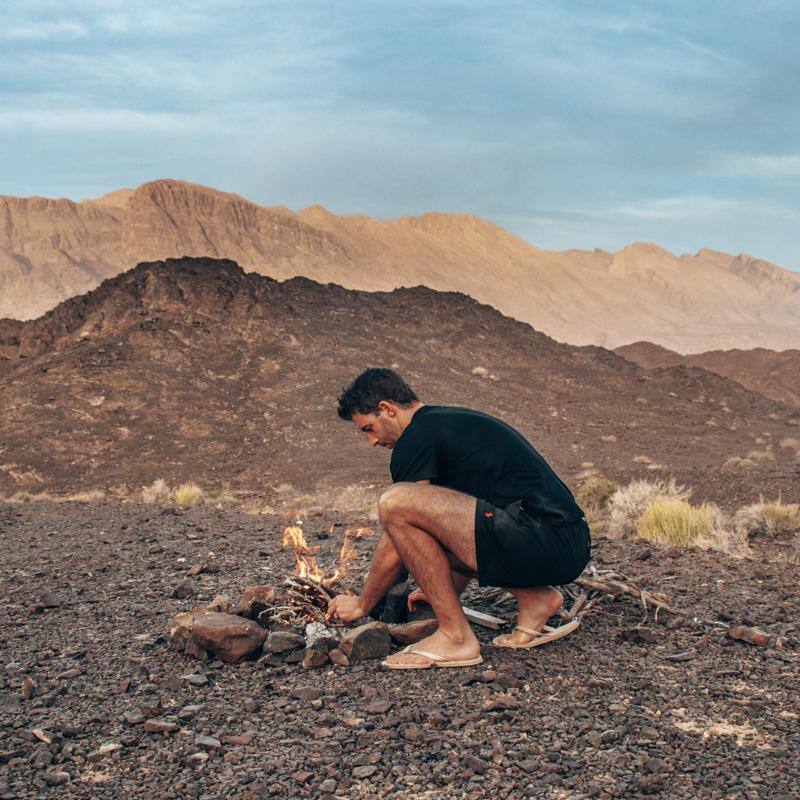 Oman campfire