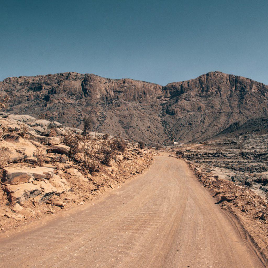 Jebel Shams roads