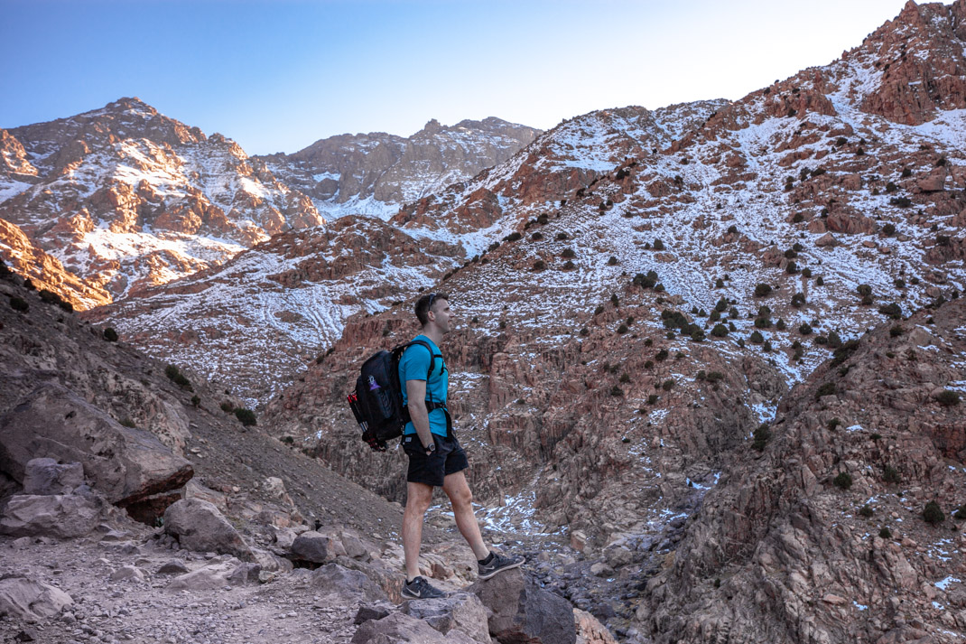 Atlas mountains hike