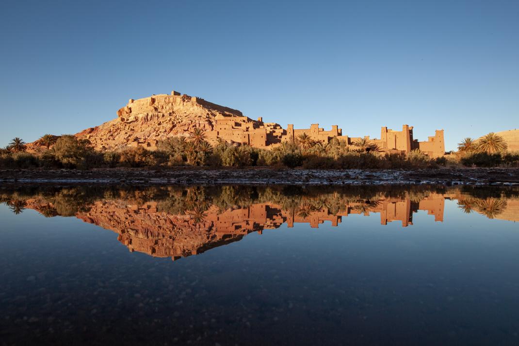 Aït-Benhaddou Reflection