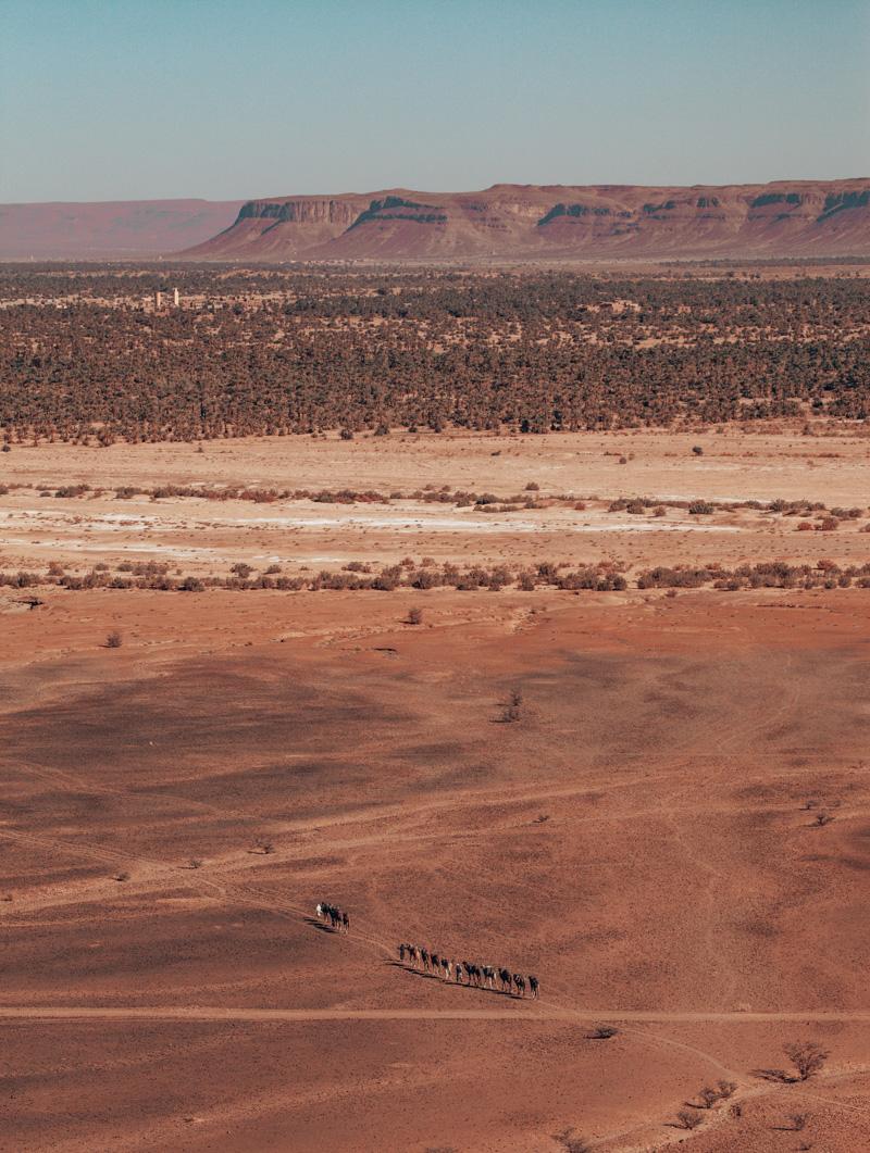 Sahara Desert drive