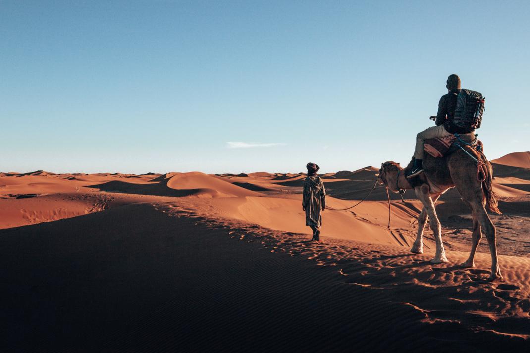 Erg Chigaga camel safari