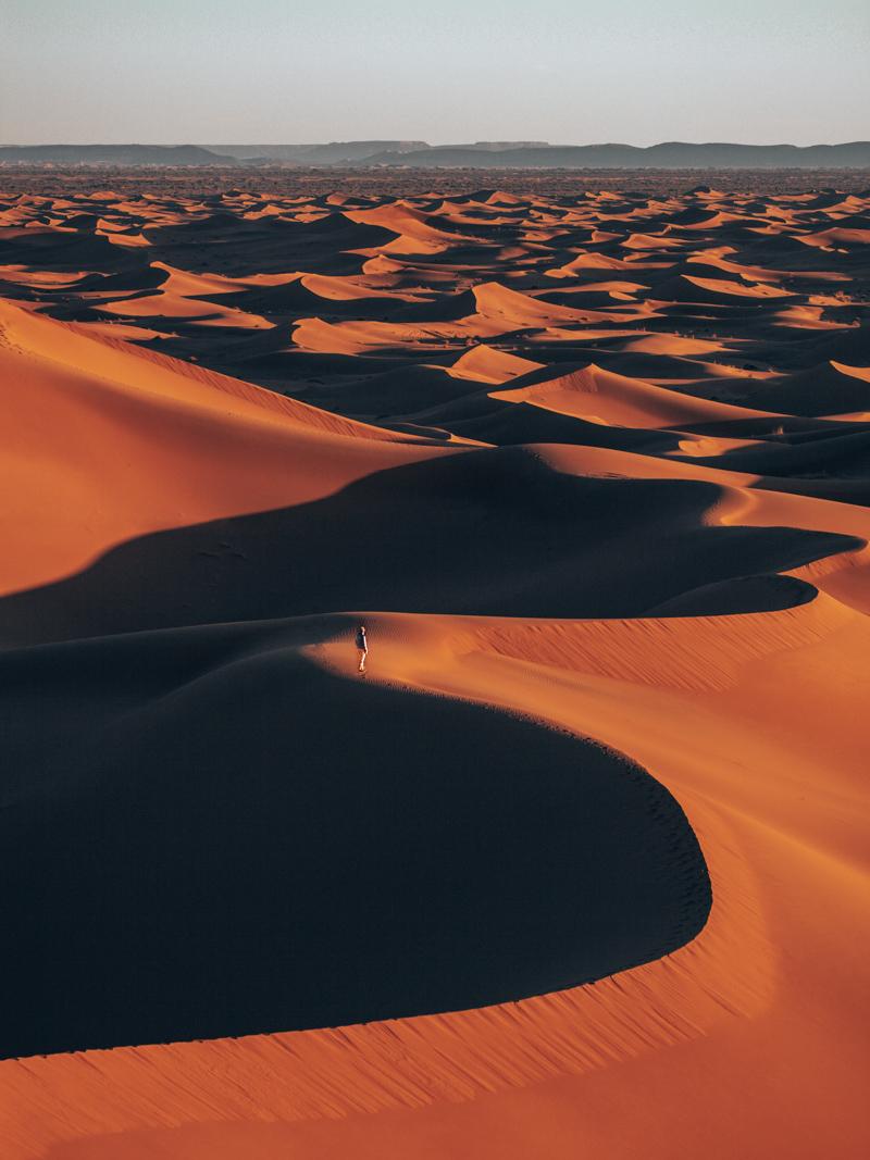 Erg Chigaga dunes walk