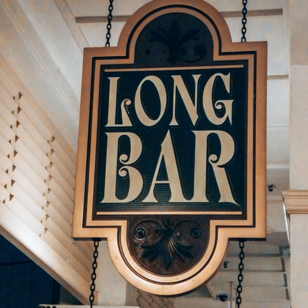 Long Bar in Raffles Hotel