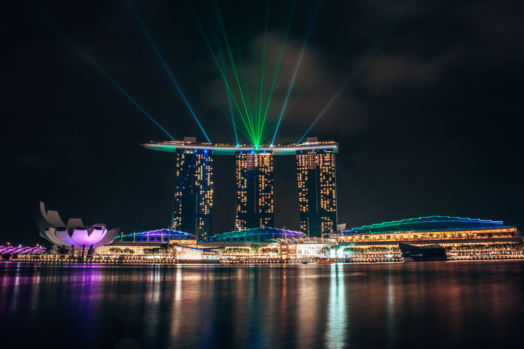 Spectra - Light, sound and water show