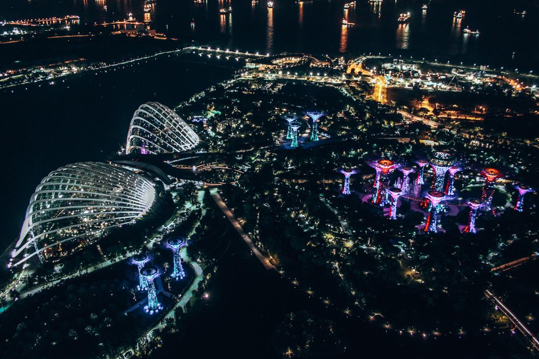 Marina Bay Sands  Observation Deck Night Views
