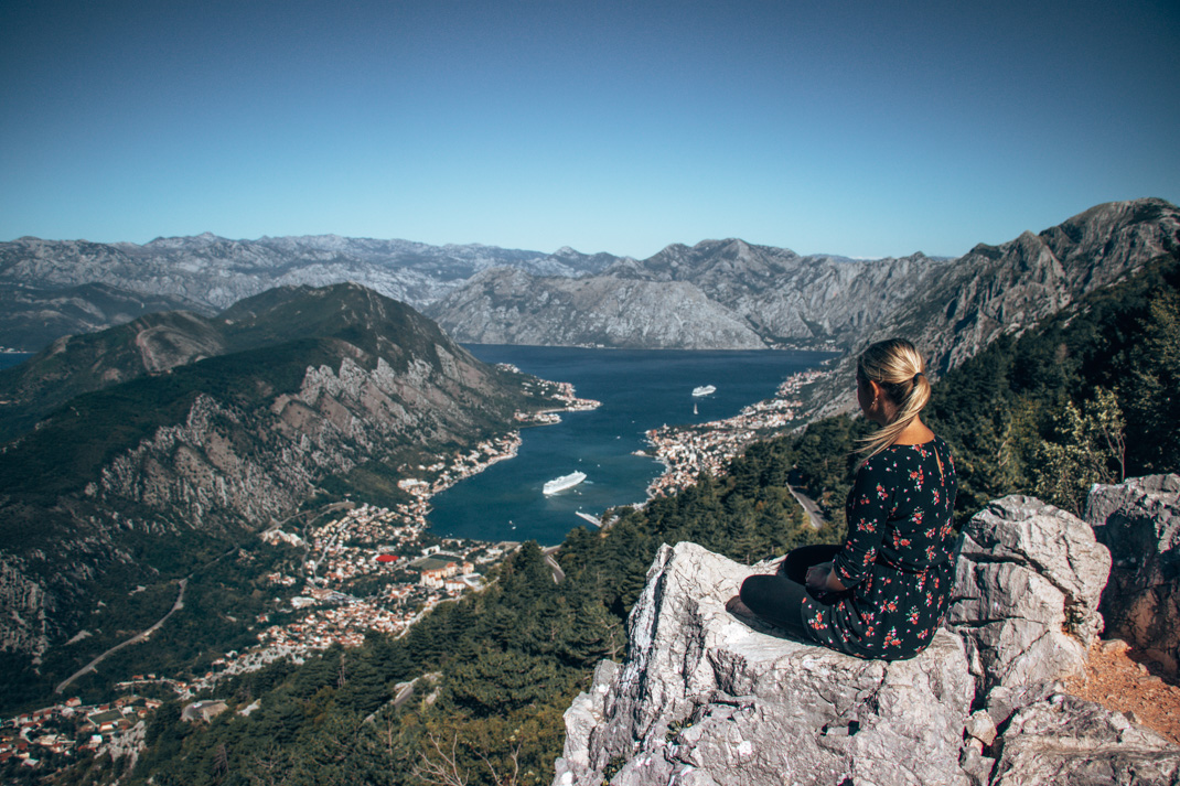 Kotor observation platform views