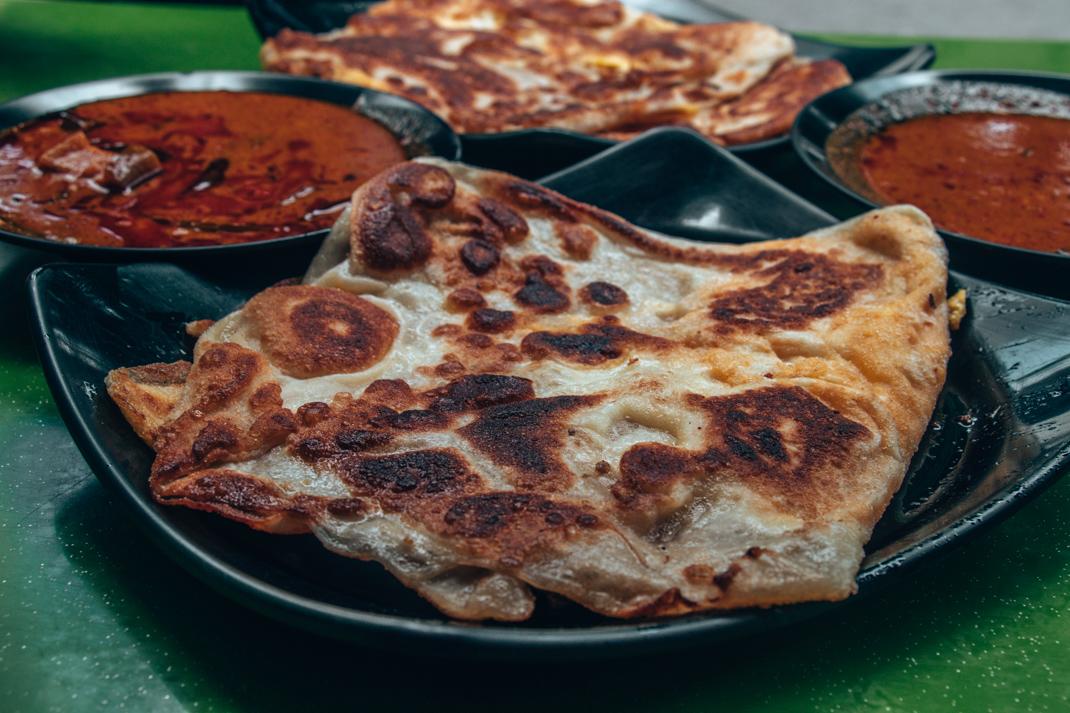 Egg Paratha at Zam Zam restaurant