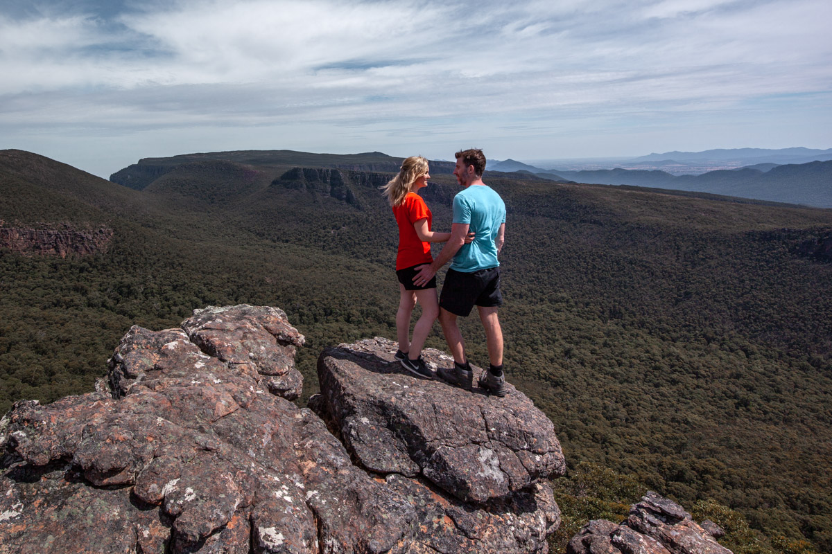 Best viewpoints of the Grampians