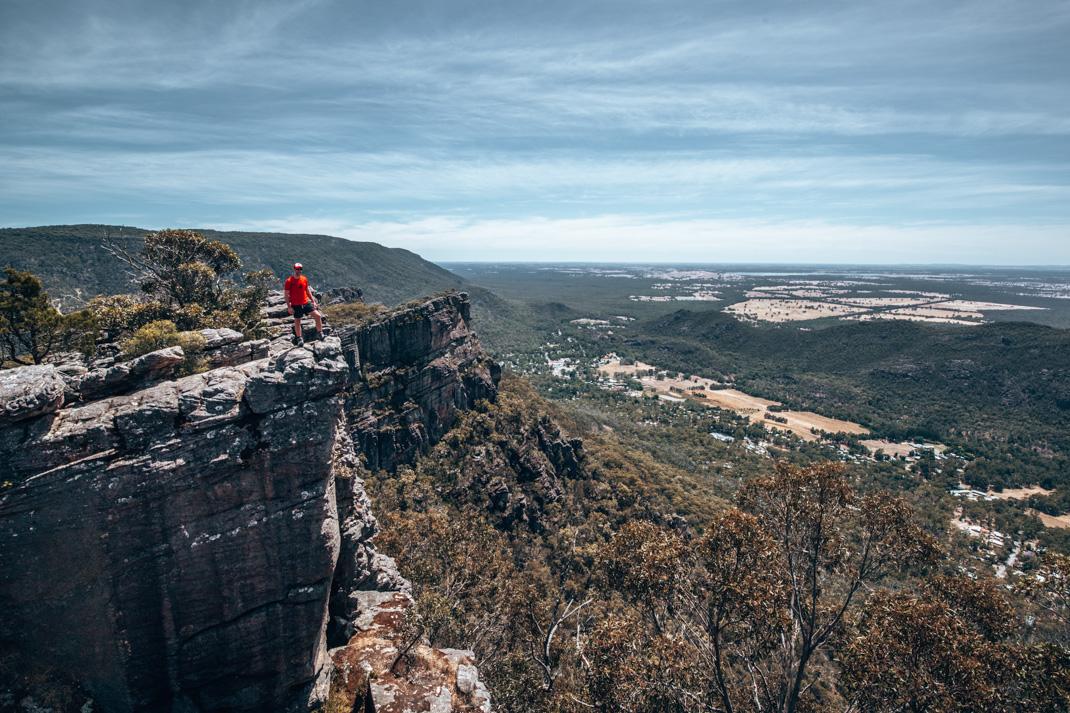 The Pinnacles viewpoint