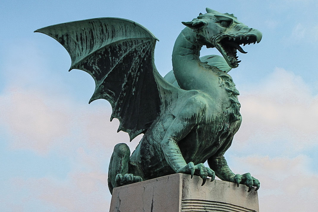 Dragon Bridge - Ljubljana
