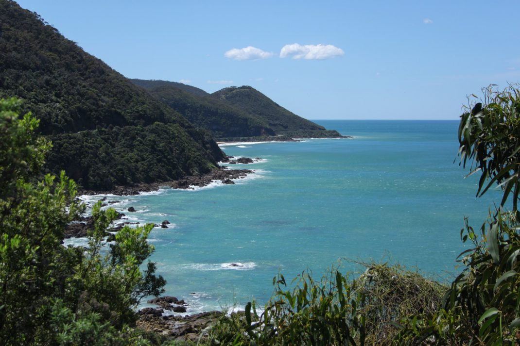 Mt. Defiance Lookout along the Great Ocean Road