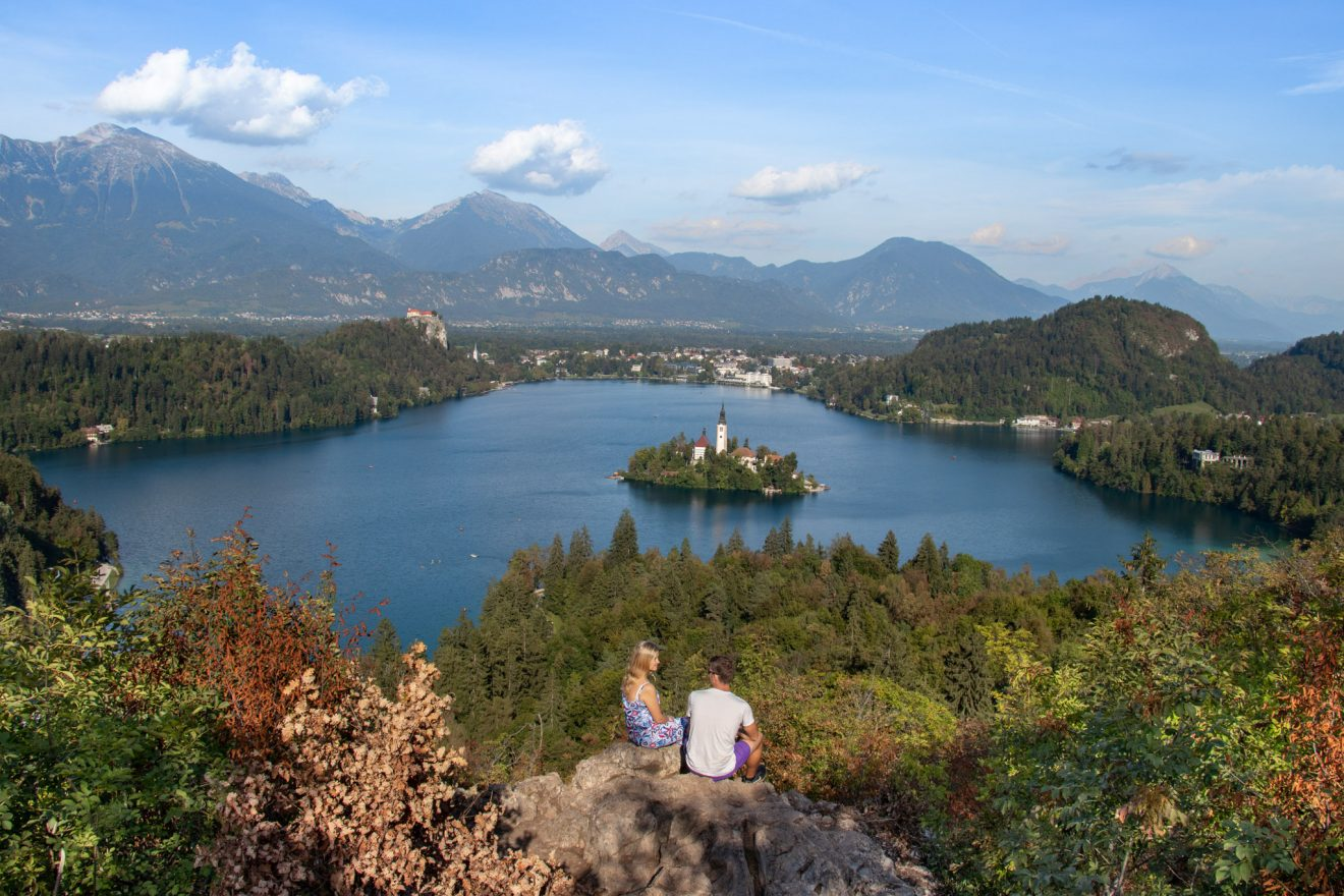 BEST VIEWS OF LAKE BLED