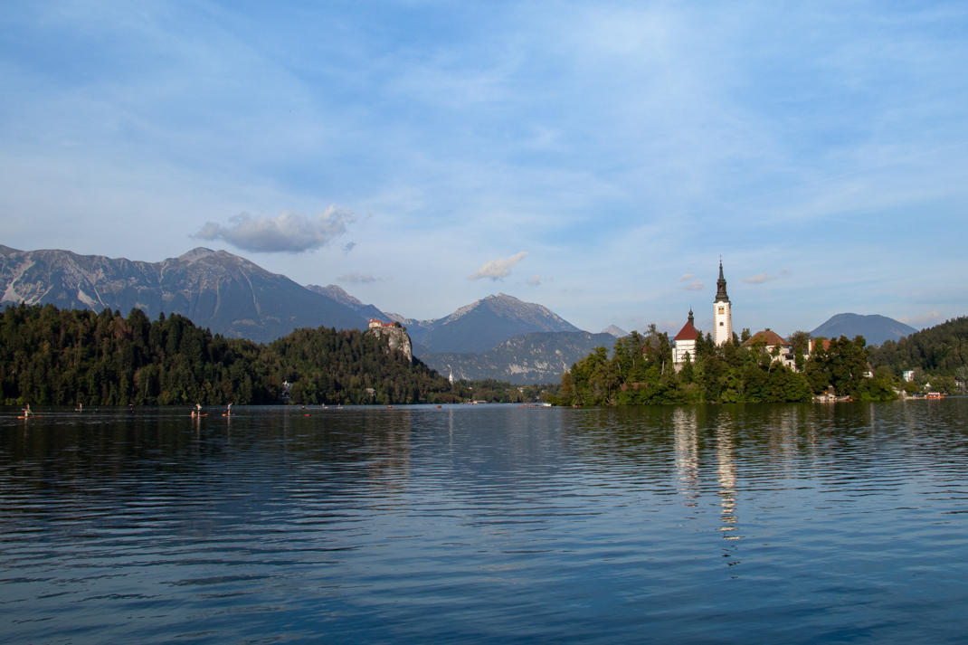 Best view of Lake Bled, Slovenia