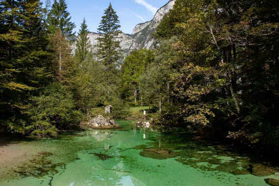 Walking to Savica Falls