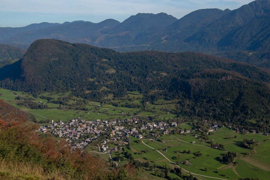 Stara Fužina views - Vogar Viewpoint