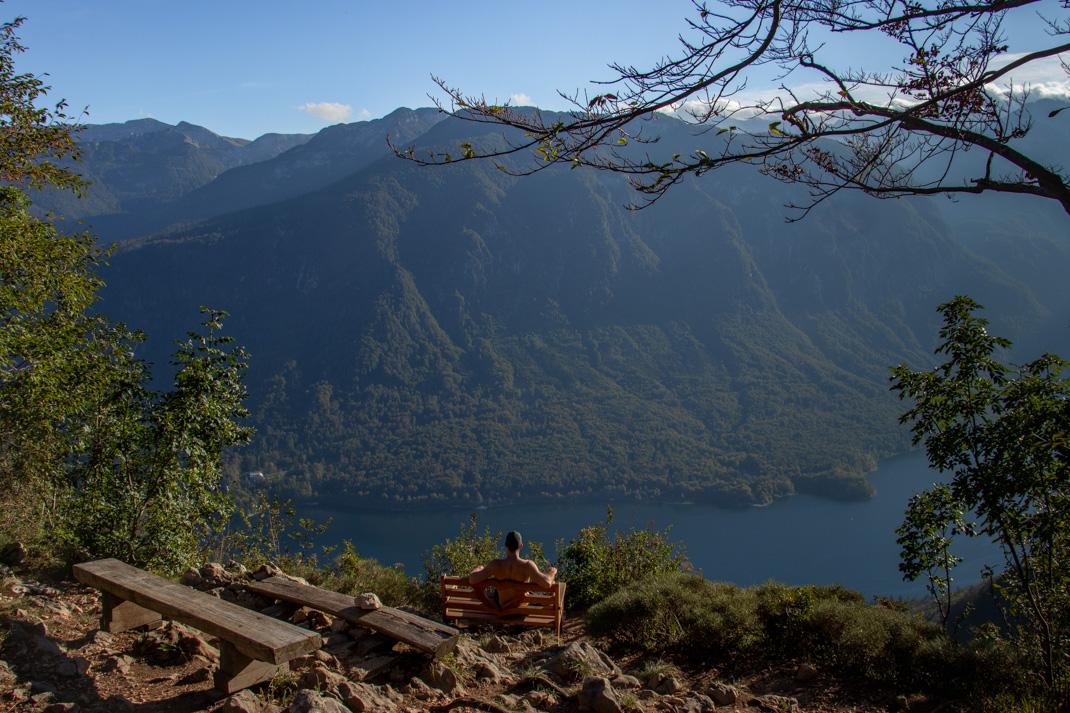 The Vogar Viewpoint - Lake Bohinj