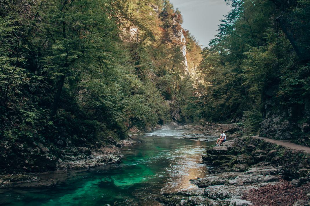 The Radovna River, Vintgar Gorge