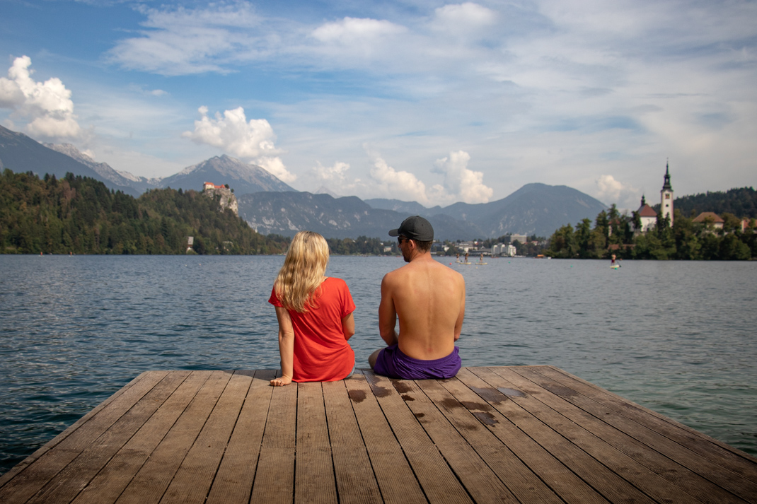 Lake Bled Pier