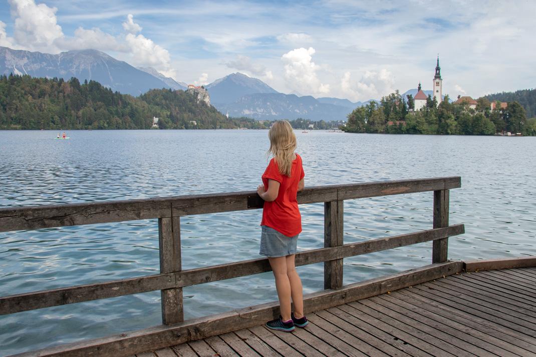 Lake Bled boardwalks