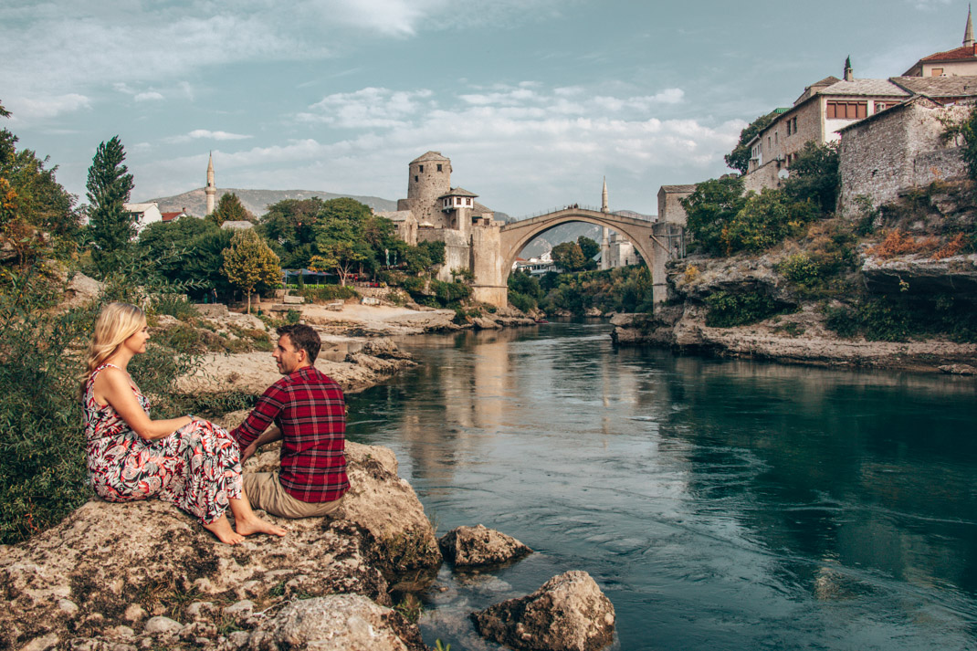 Mostar Bridge views