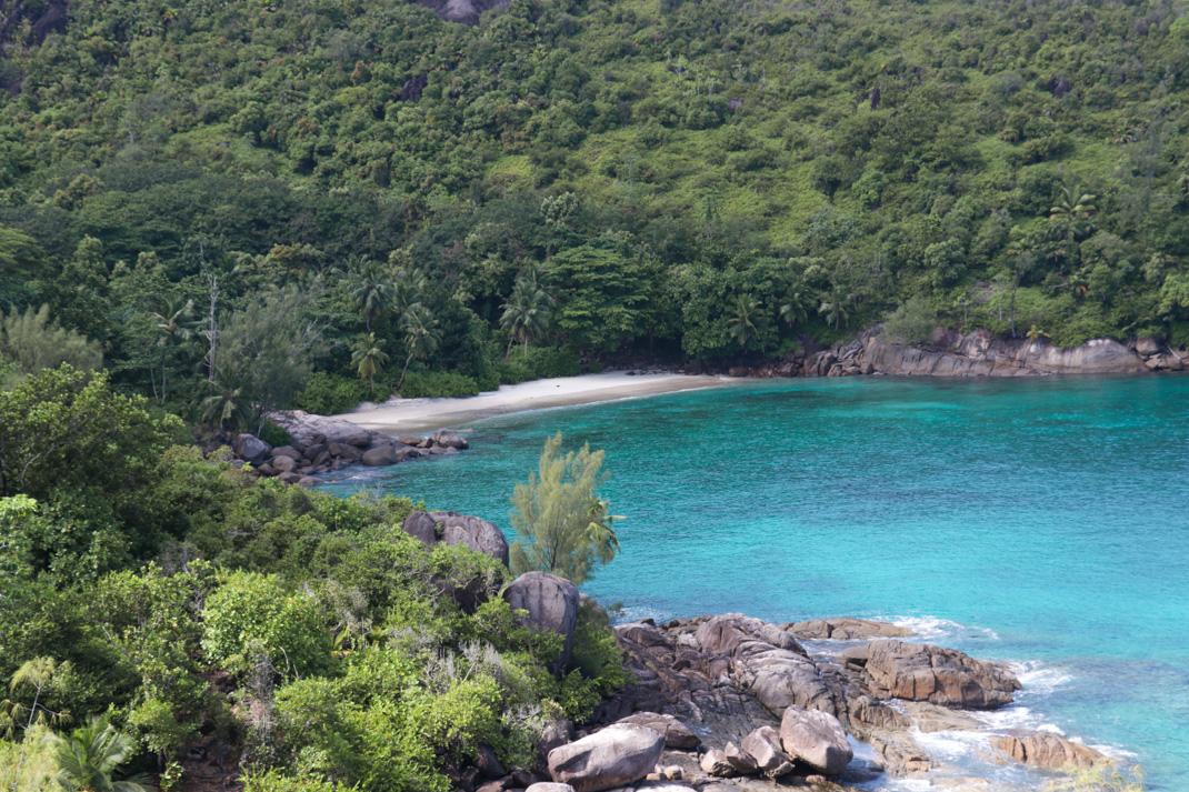 Deserted Anse Major Beach - Mahé Island