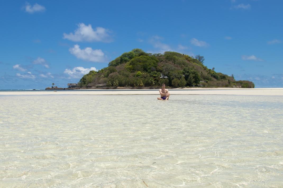Crystal clear waters of Île aux Cerfs - Mahé Island