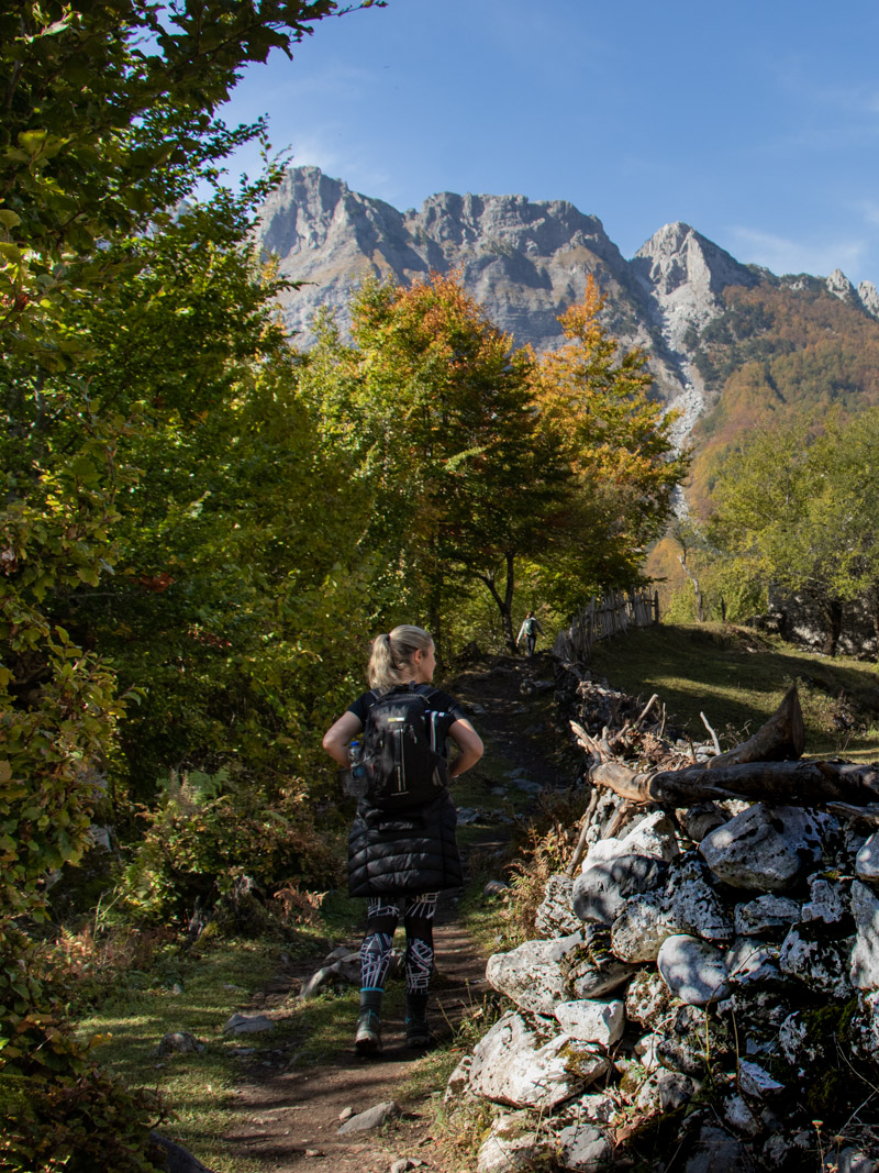 Hiking the Accursed Mountains - Valbonë to Theth