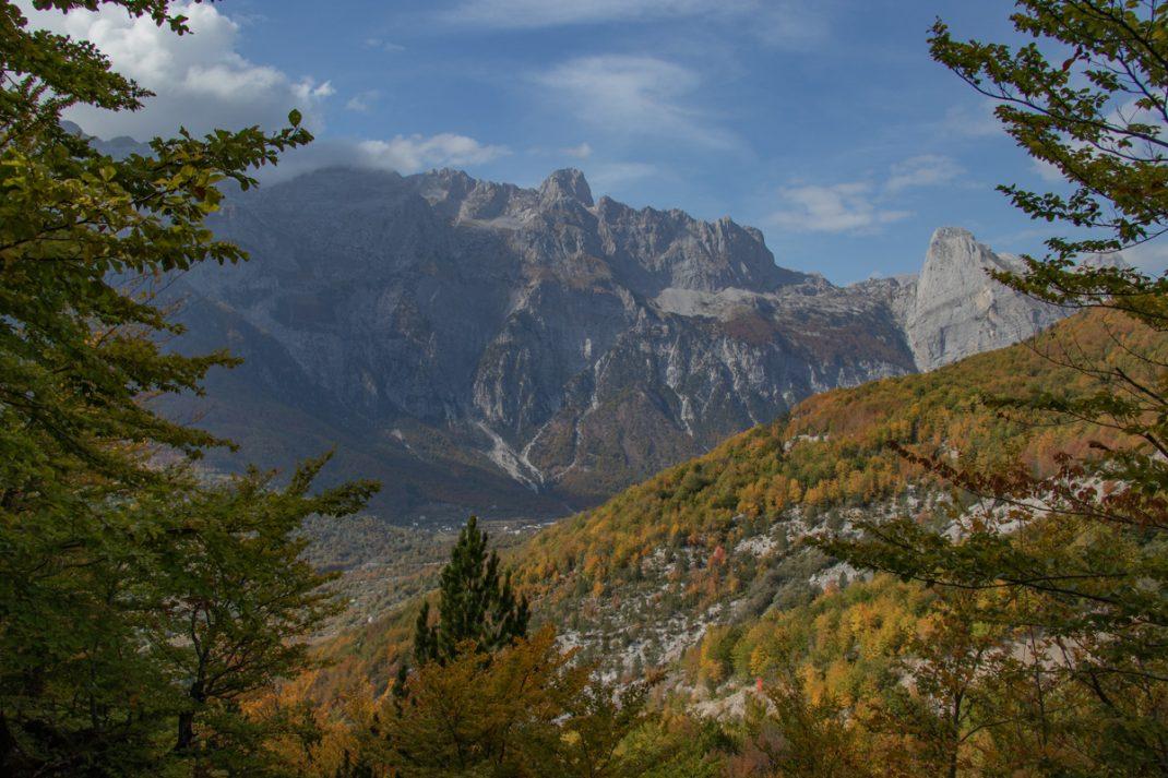 Valbonë to Theth hike, Albania