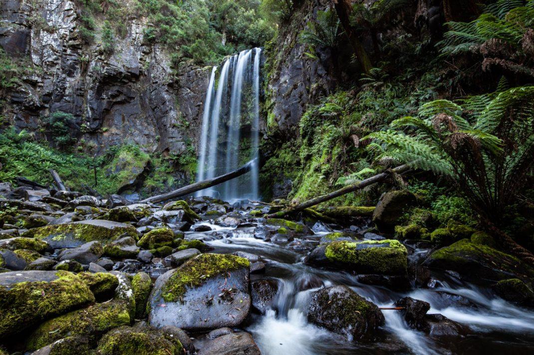 Long Exposure at Hopetoun Falls, the Great Otway National Park