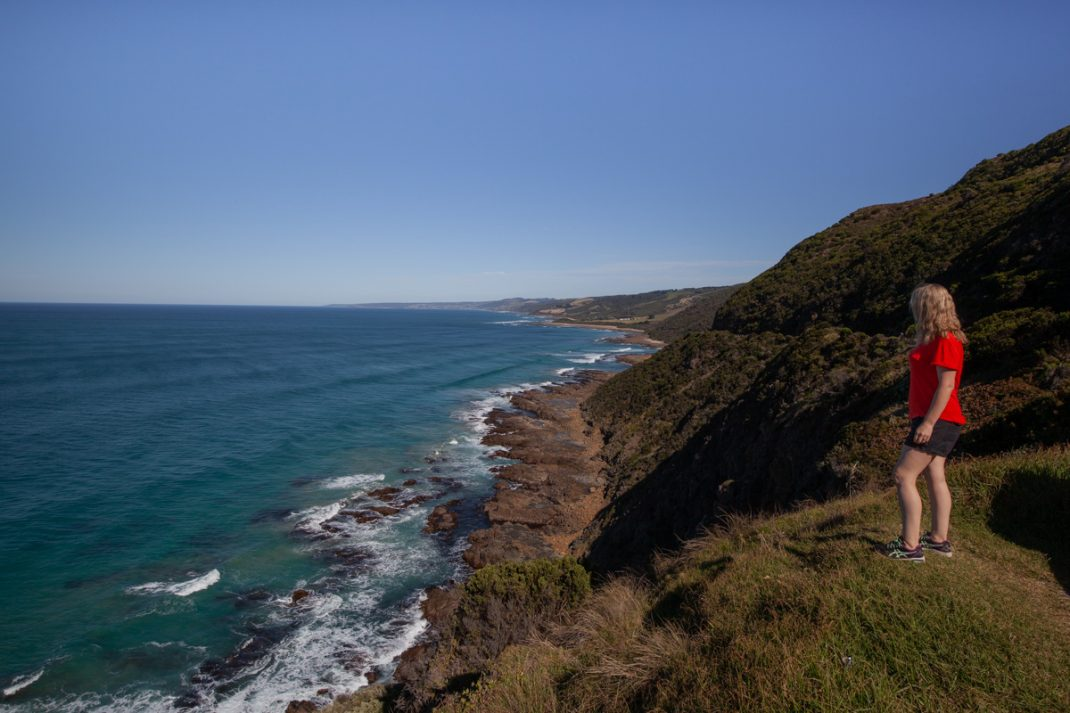 Cape Patton Viewpoint along the Great Ocean Road