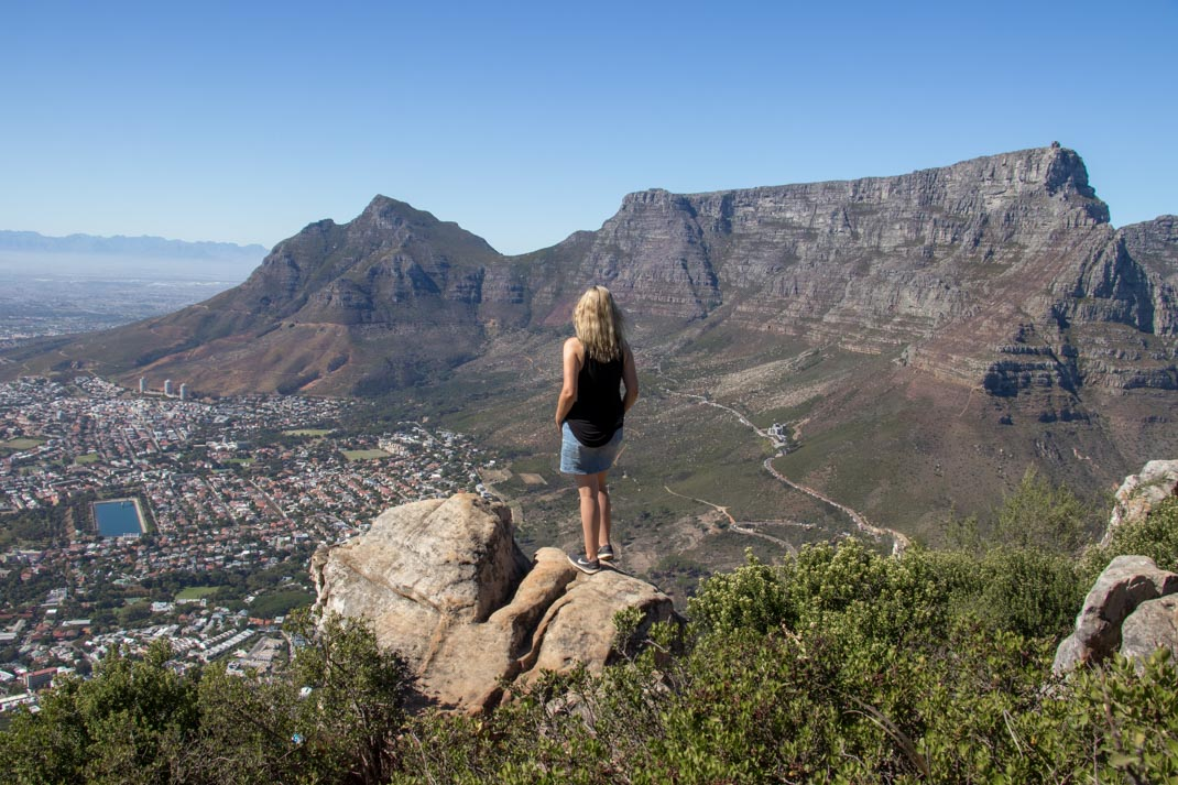 Views over Cape Town - Lions Head