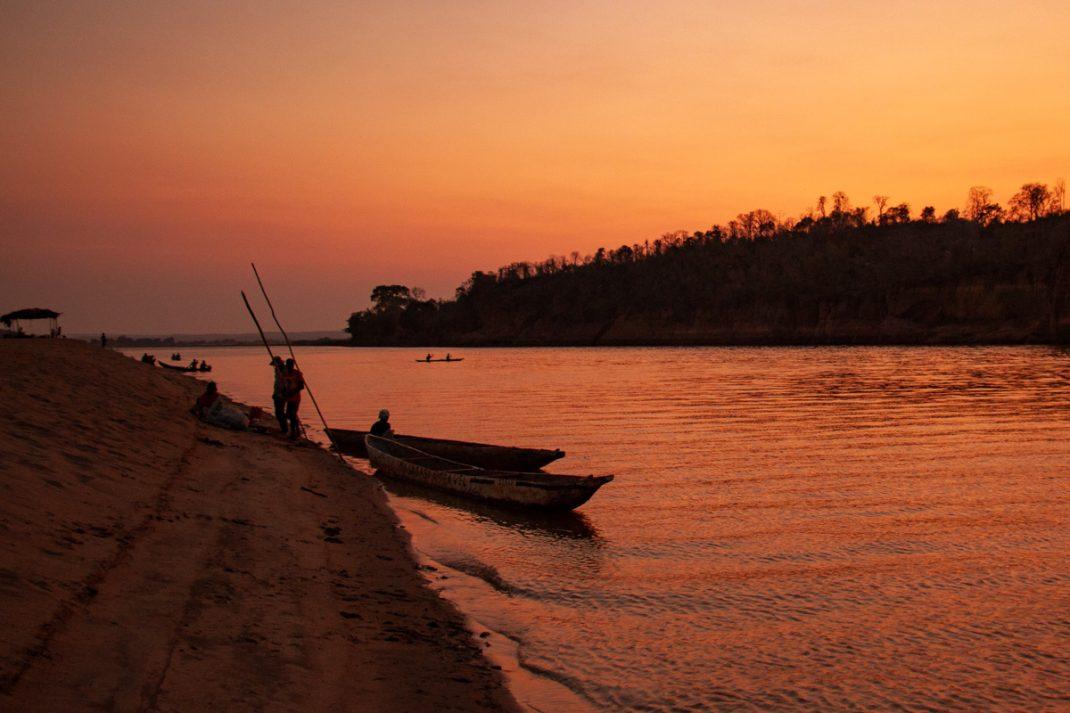 Tsiribihina River Sunset