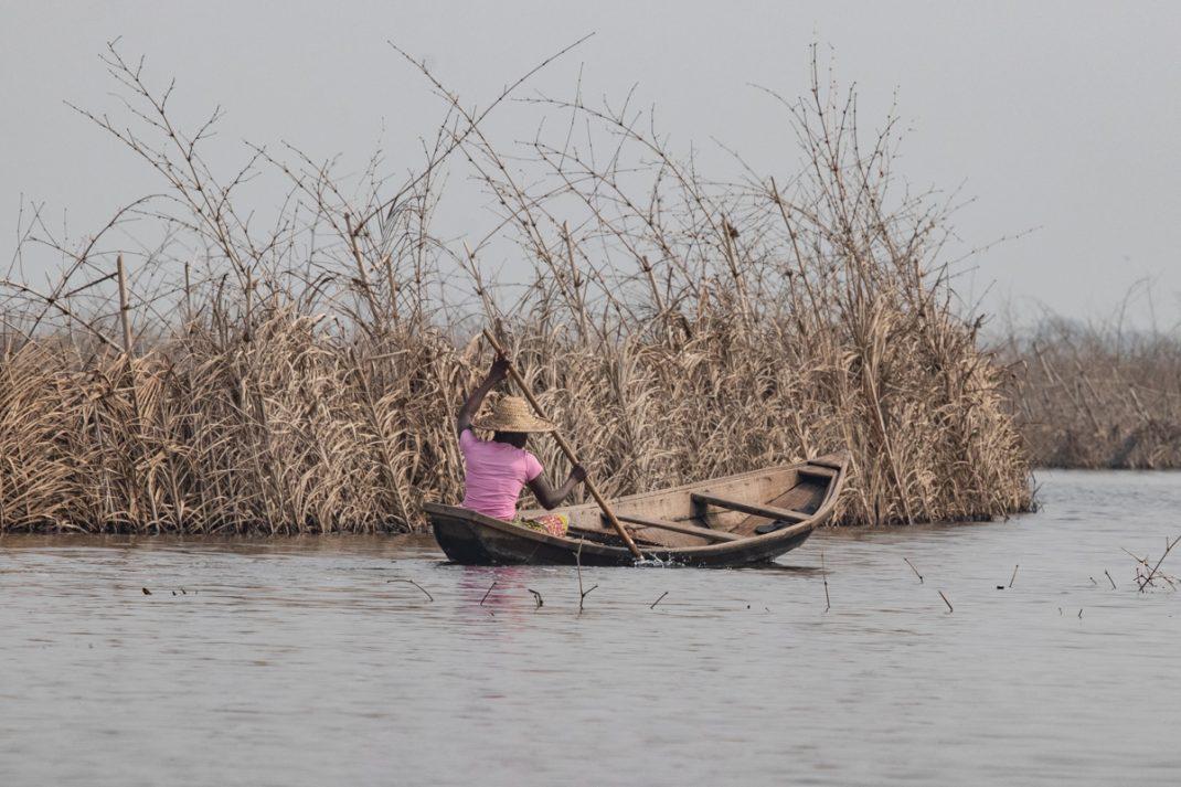 Lake Nokoué Dugout