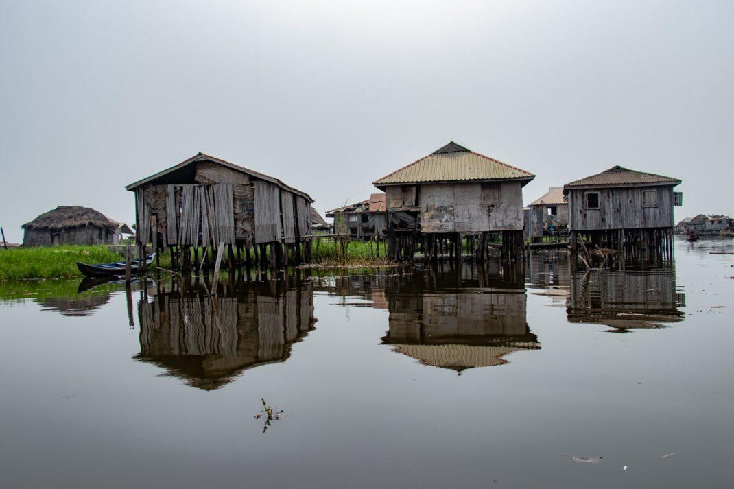 Ganvie Lake Village - Stilted Huts