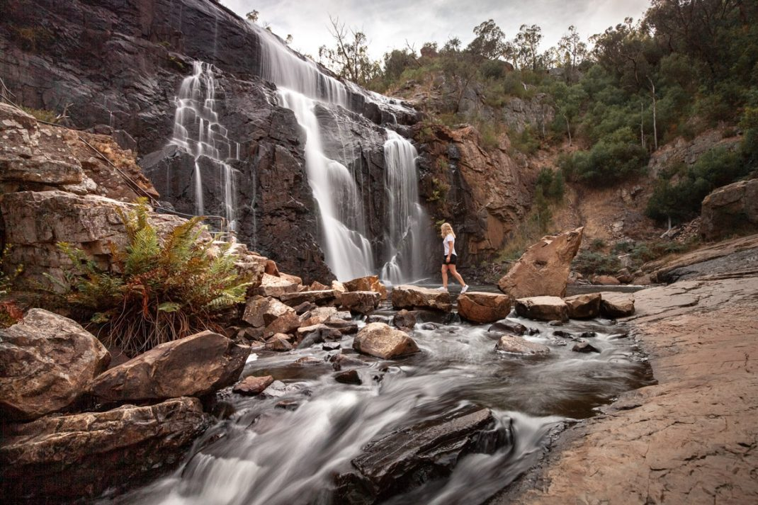 MacKenzie Falls, one of the places you must see in The Grampians