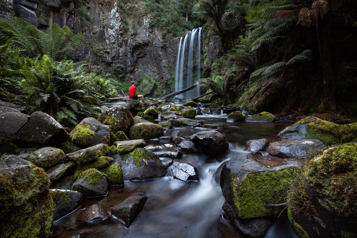 Hopetoun Falls, the Otways