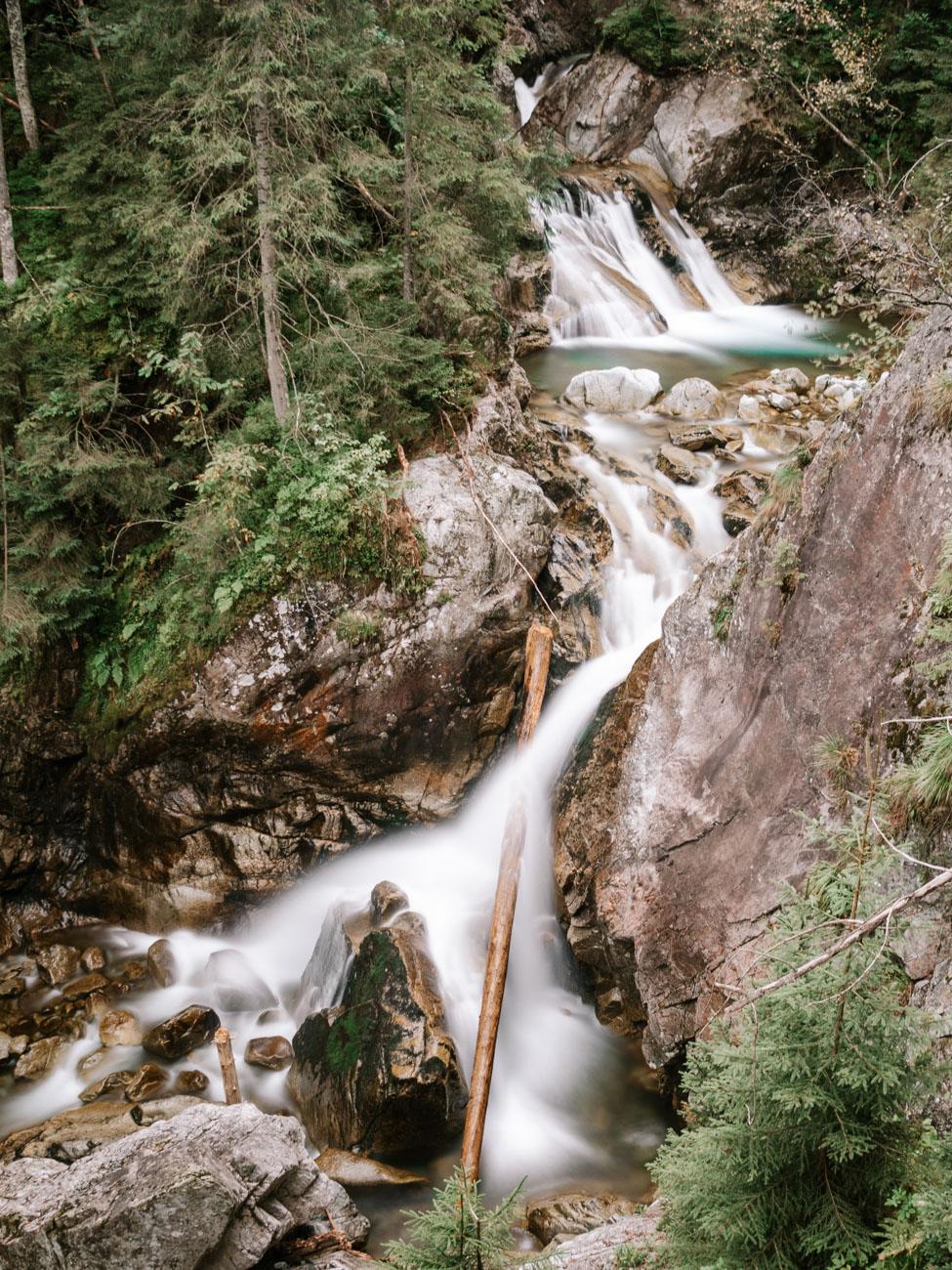 Wodogrzmoty Mickiewicza Waterfall en-route to Morskie Oko