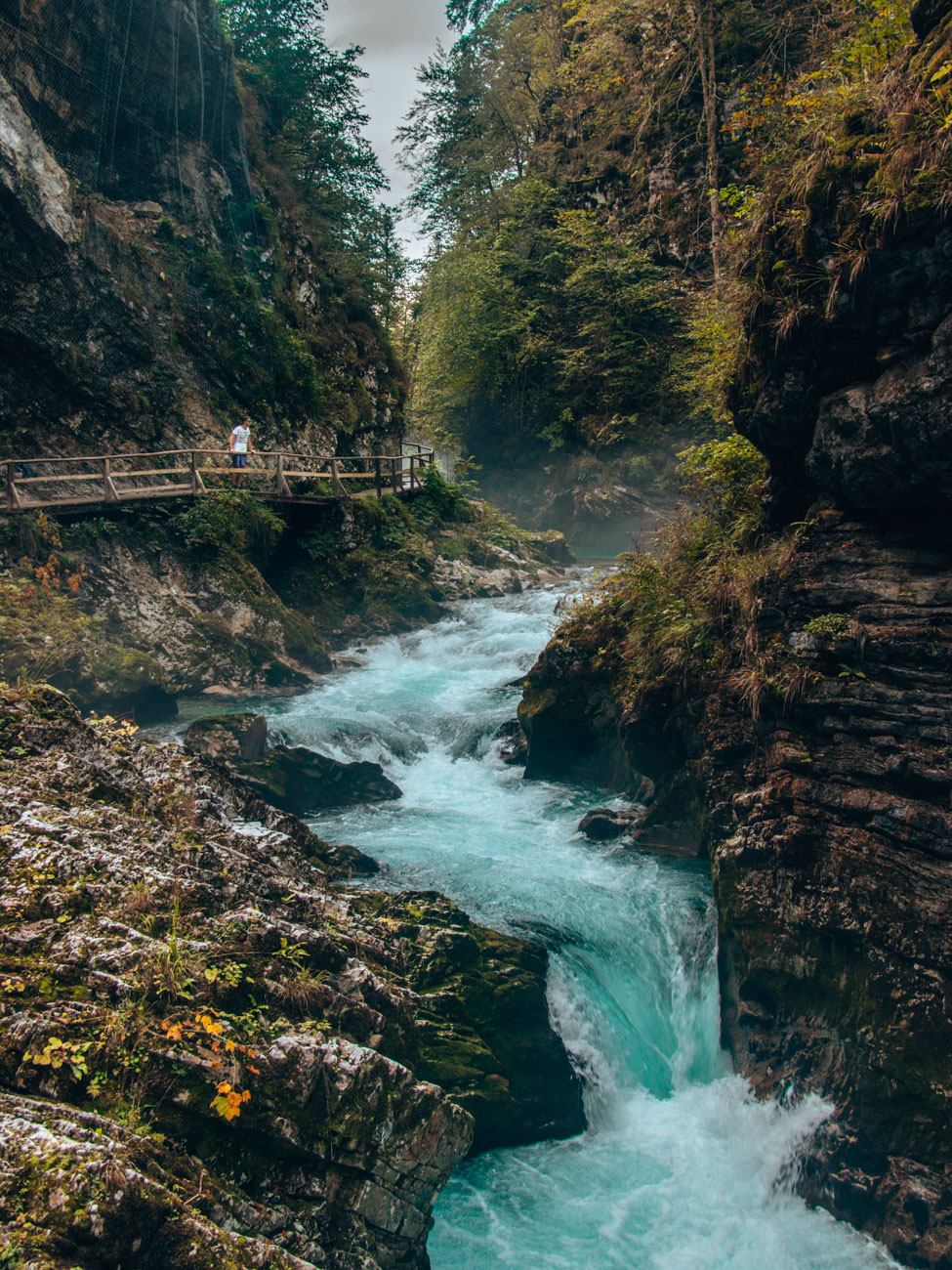 Boardwalks of Vintgar Gorge