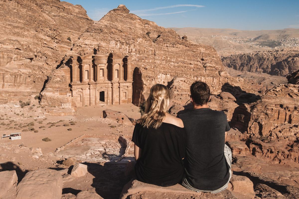 Petra Monastery view