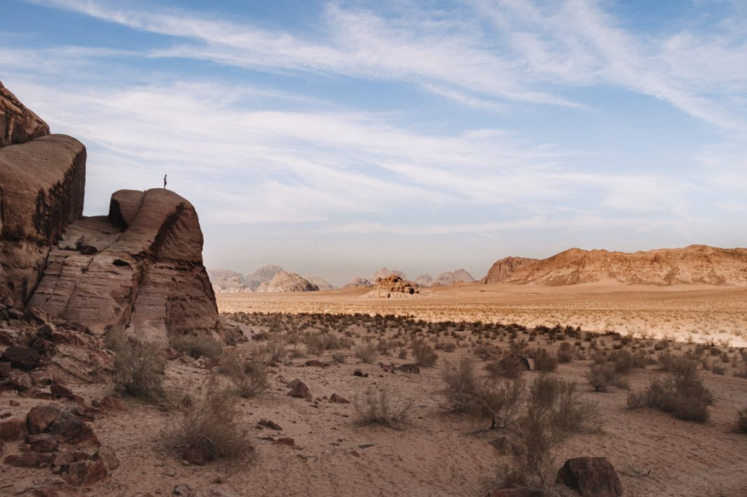 Visiting Wadi Rum valley of the moon
