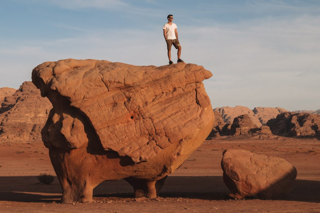 A guide to Wadi Rum Chicken Rock