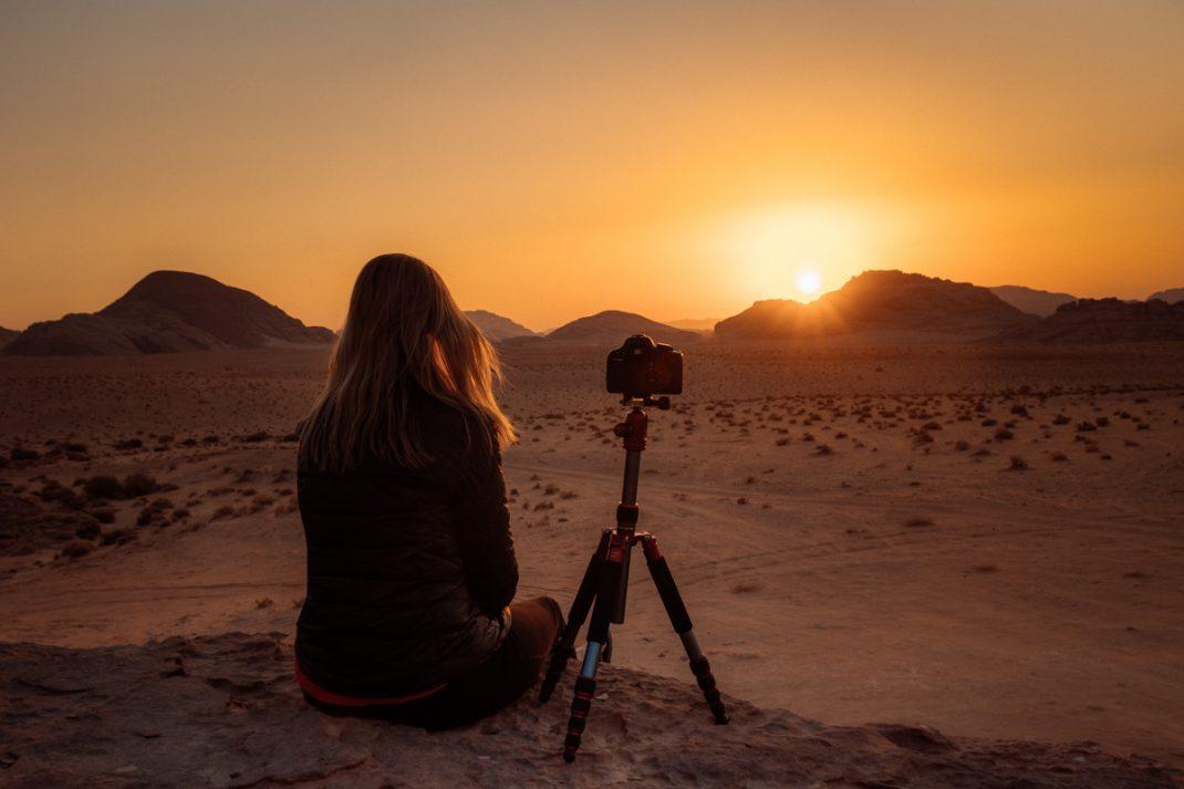 Wadi Run sunsets