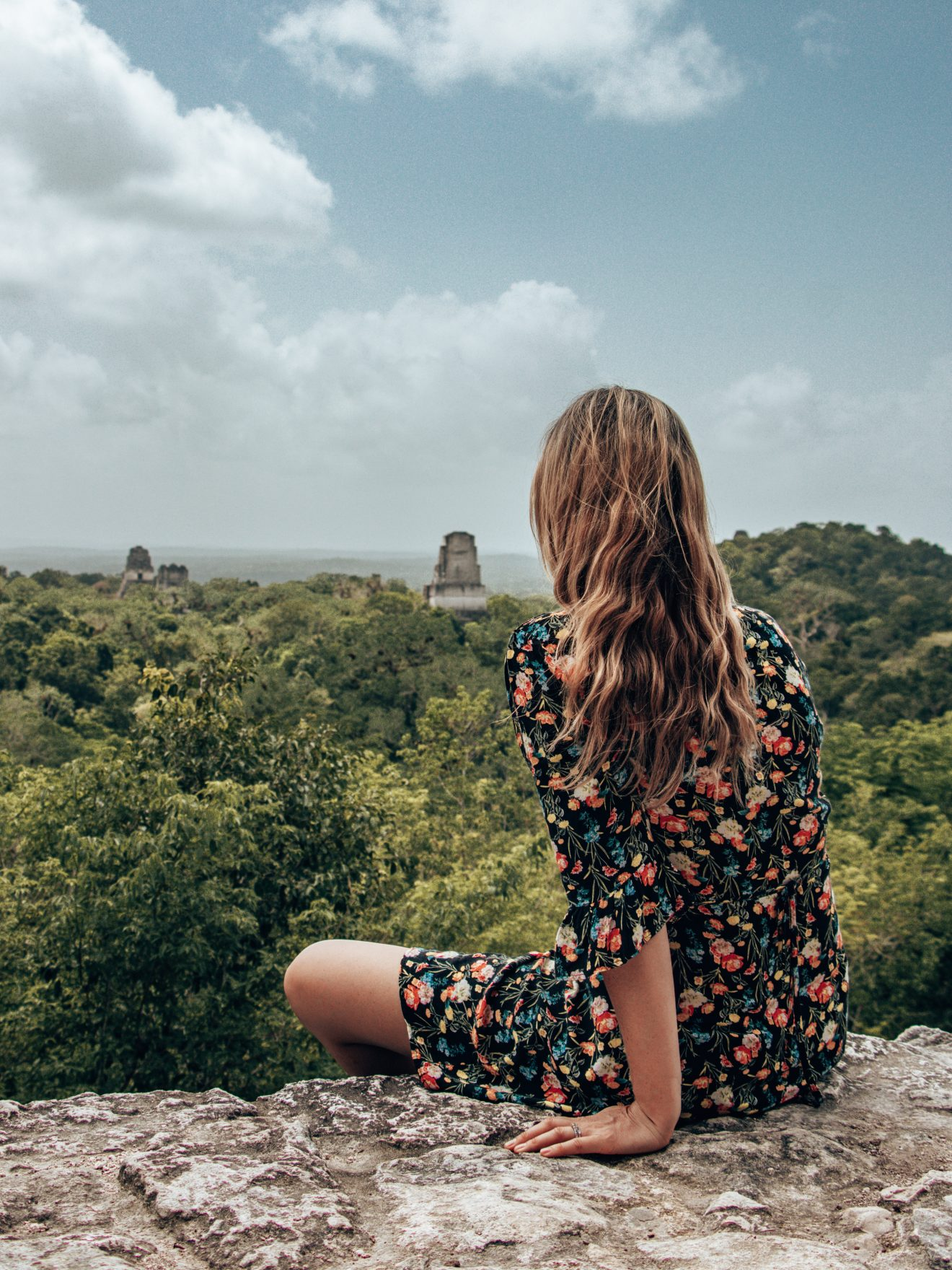 Views from temple IV TIkal