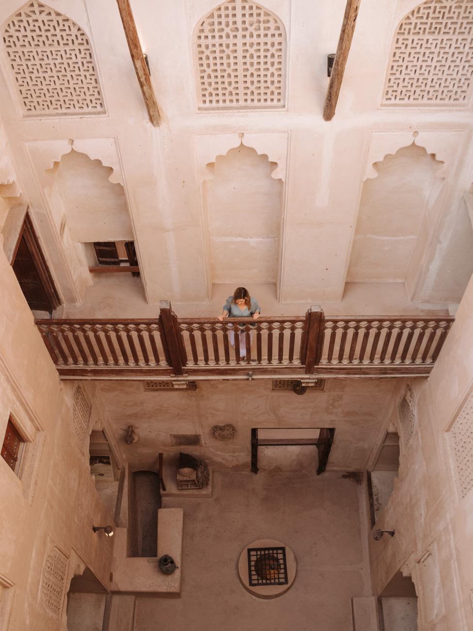 Jibreen Castle interior - Oman Travel Guide