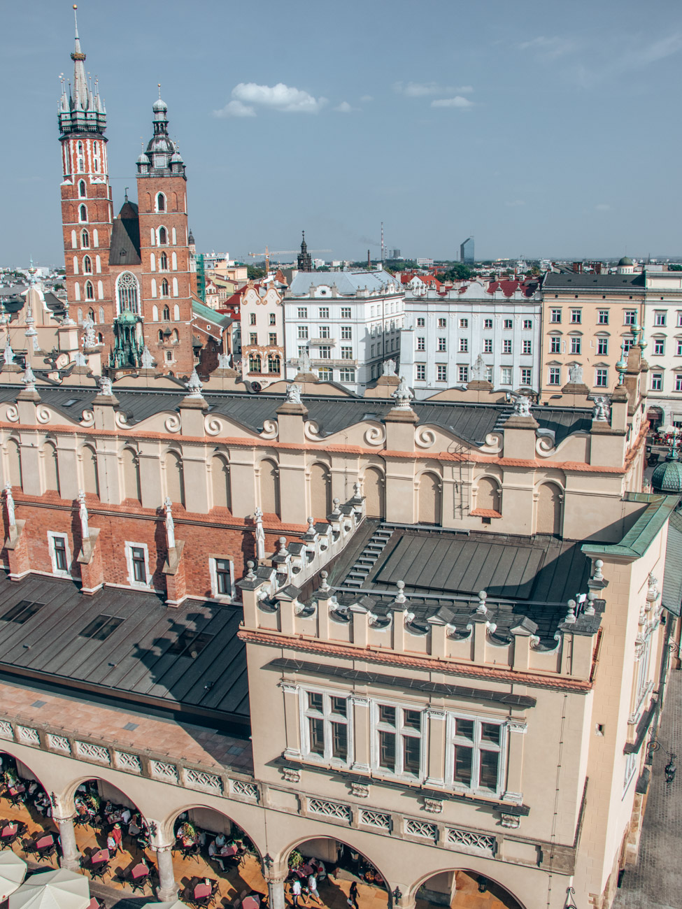 Krakow Clock Tower Views