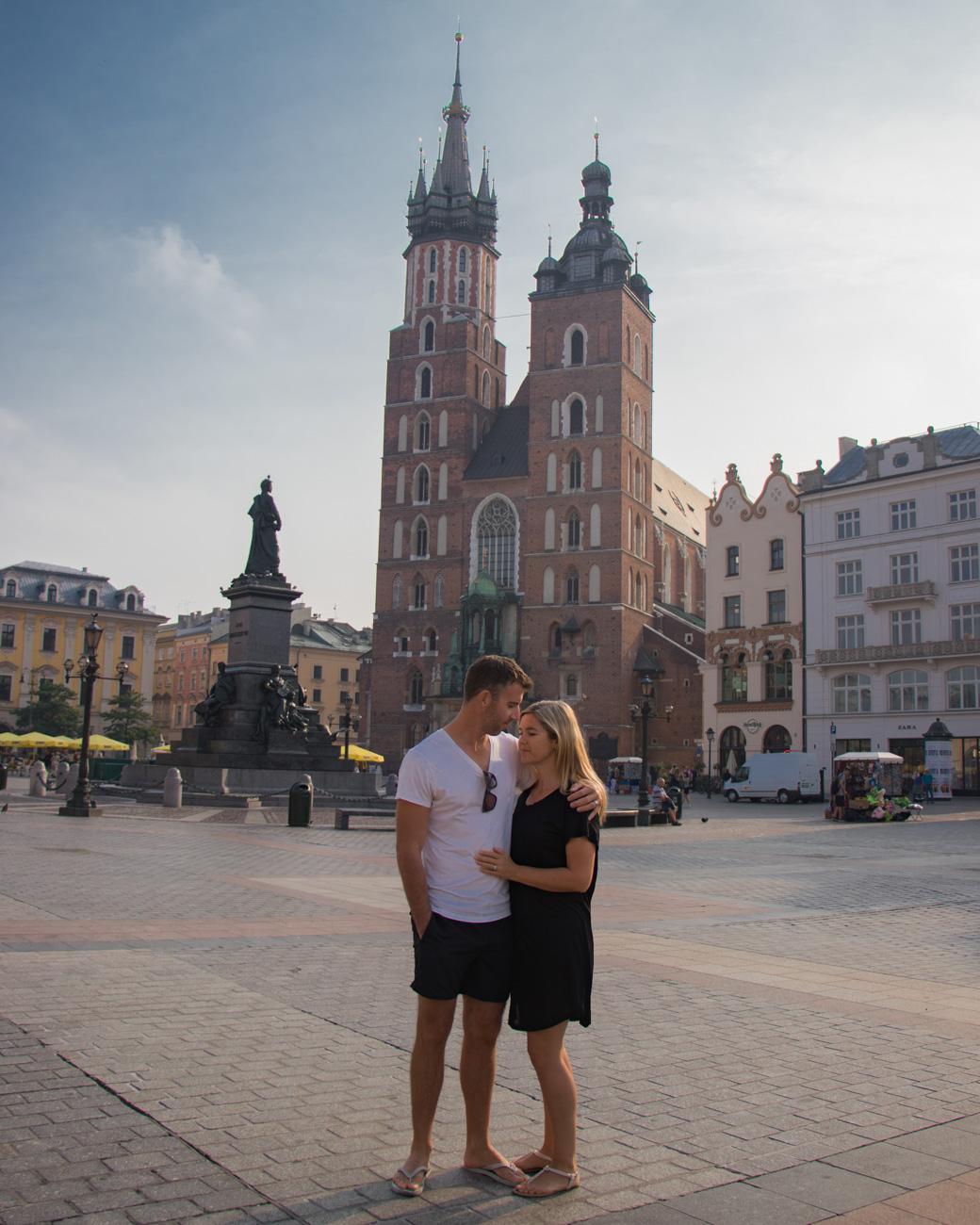 Krakow Clock Tower