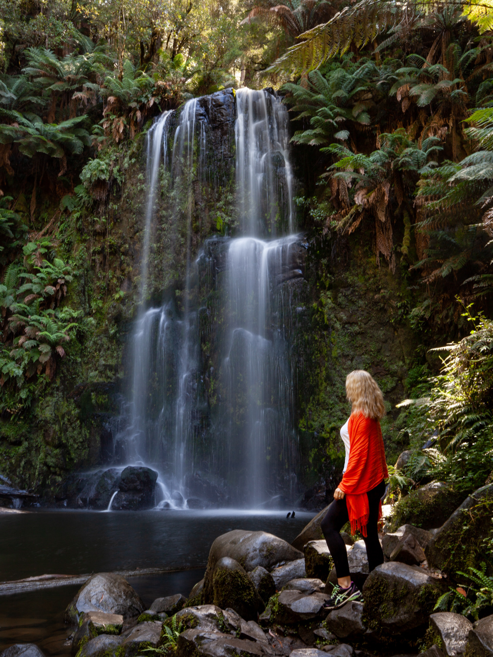 Beauchamp Falls in the Great Otway National Park